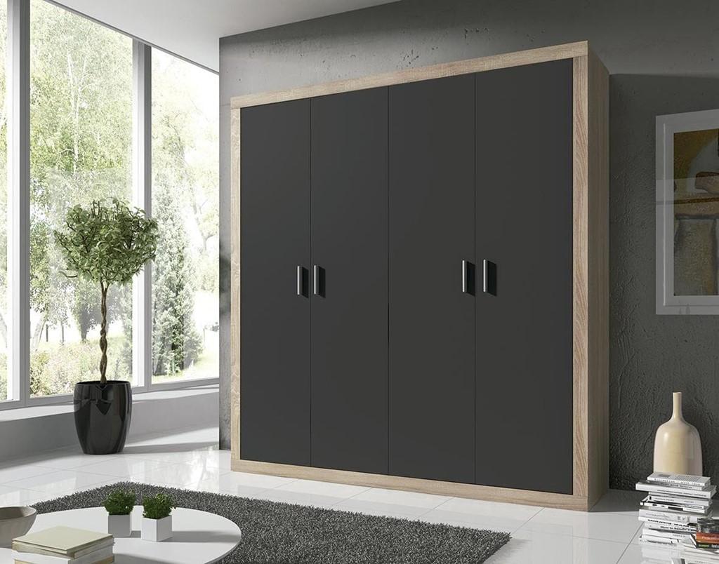 Armario Dormitorio Lara 4 Puertas # Muebles Directo Cee